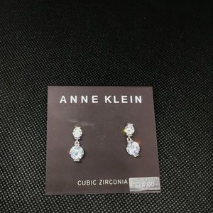 Anne Klein Cubic Zirconia Earrings